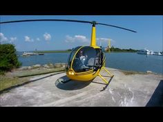 Helicopter Ride in a Robinson R44 - Over Morehead City, North Carolina - Oct 5, 2013