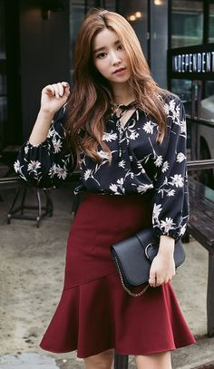 DAISY PRINTED BLOUSE