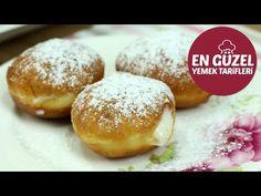 Krapfen tarifi, Krapfen Nasıl Yapılır - En Güzel Yemek Tarifleri - YouTube Hamburger, Bread, Youtube, Food, Brot, Essen, Baking, Burgers, Meals