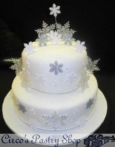 wilton cake decorating snowflake wedding cake | ... enter details and modifications below, under Decorating Information