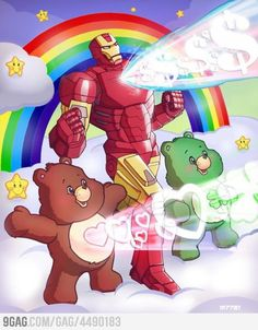 Iron Man/Care Bears fanfic!