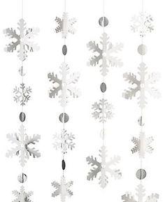 Snowflake Garland Kit