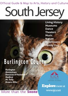 Official Guide & Map of Arts, History & Culture in South Jersey Burlington County