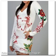 wholesale-discount-ed-hardy-t-shirt-long-sleeve-tee-special-edition-the-world-is-mine-v-neck-sp184nz-women-ed-hardy-women-t.jpg (600×600)