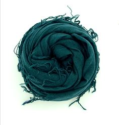 Chan Luu Scarf ~ Deep Teal. Chelsea caries this color and many more!