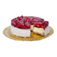 Tarta dietetica cu capsuni: dietetica si incredibil de gustoasa, tarta dietetica cu capsuni va fi senzatia petrecerii tale!