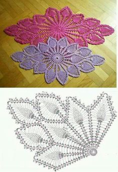 Fantastic Photos thread Crochet Doilies Popular Although most of the doilies that you see in stores today are produced from paper or machine lace, y Crochet Doily Diagram, Crochet Motifs, Crochet Chart, Thread Crochet, Crochet Stitches, Crochet Doily Patterns, Crochet Designs, Knitting Patterns, Crochet Home