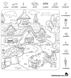 Cherche et trouve - Lulu la taupe, jeux gratuits pour enfants Activities For Adults, English Activities, Preschool Learning Activities, Summer Activities For Kids, Hidden Pictures Printables, Hidden Picture Puzzles, Hidden Objects, Activity Sheets, Worksheets For Kids