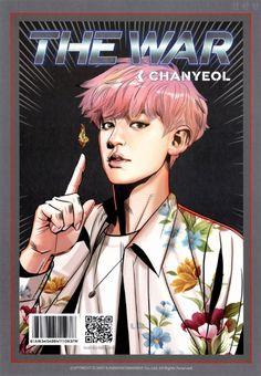 Chanyeol-The War Photoshoot Exo Chanyeol, Kpop Exo, Exo Ot12, Chanbaek, K Pop, Exo Anime, Fanart Bts, Exo Album, Exo Fan Art