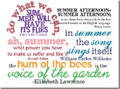 Printable word art for summer pages. Quotations and Word Art for Scrapbooking Summer Pages