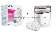 PHILIPS AVENT 4 in 1 Steriliser with FREE GIFTS RM349.00