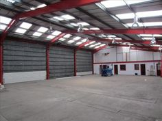 Warehouse for Rent,Westside Centre, Colchester,CO3 8PH is of steel portal frame construction with brick elevations under a pitched insulated roof.
