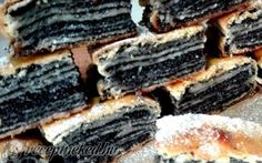 Hajtogatott mákos süti recept fotóval Poppy Seed Cookies, Polish Recipes, Food Photo, Cookie Recipes, Cheesecake, Favorite Recipes, Sweets, Meals, Ethnic Recipes