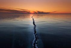 National Geographic 2015 Rompendo a Superfície, Lago Baikal