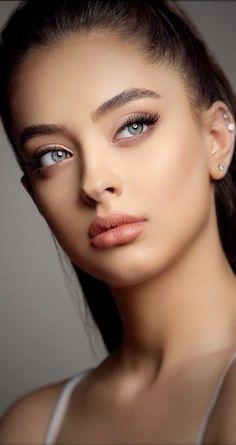 Most Beautiful Eyes, Stunning Eyes, Beautiful Models, Gorgeous Women, Girl Face, Woman Face, John David, Bridal Makeup Looks, Model Face