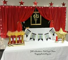 YW In Excellence- Awards Night/Red Carpet Theme