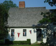 This is a Cape Cod style home   a bow roof  a k a  ship    s    Marta    s Beautiful Bow House My home I plan on owning  or one like it