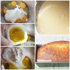 Bizcocho-de-yogur-receta Pound Cake Recipes, My Recipes, Bread Recipes, Cooking Recipes, I Love Food, Good Food, Yummy Food, The Joy Of Baking, Dulce Candy
