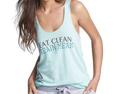Eat clean, train mean. Unit-Y 'Downtown' Tank from Nordstrom $20