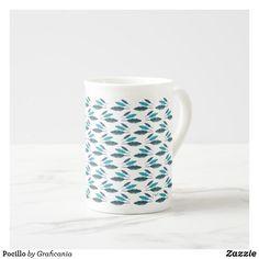 Taza De Té Pocillo Fresco, Vase, Mugs, Tableware, Home Decor, China Mugs, Feathers, Products, Homemade Home Decor
