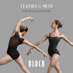 BLOCH Fall/Winter Collection '14 Dance Leotards, Winter Collection, Dance Wear, Fall Winter, Ballet Skirt, One Piece, Swimwear, Leather, Fashion