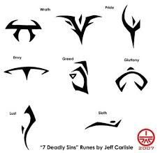 Image Result For Symbol Of Greed Tattoo Seven Deadly Sins