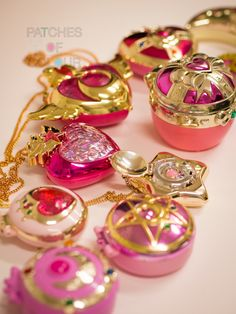 sailor moon compacts | My Sailor Moon compacts ^_^ | Patches of Colour