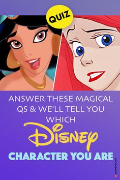 Take this fun Disney personality quiz and find out which Disney character you are based on yours answers to these questions! #disney #disneyquiz #whoareyou #personalityQuiz #disneyQuizzes