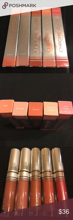 Pur Lippies Gloss & Matte. New Price is for all. Pur Lippies Gloss & Matte. New Price is for all. Sephora Makeup Lipstick