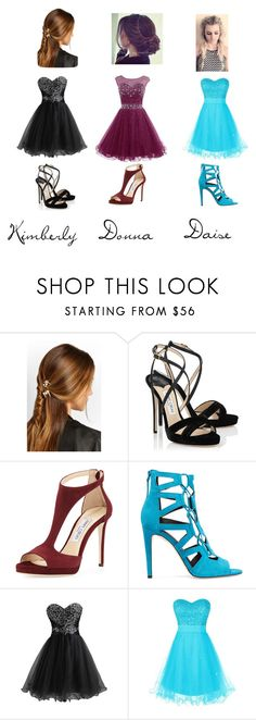 """blog 3"" by reka-laura-hegedus on Polyvore featuring Rosantica, Jimmy Choo and Rebecca Minkoff"