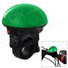Color: Green; Brand: Others,NO; Model: HH-08; Quantity: 1 Set; Material: Plastic; Battery Type: Others,2 x R1P batteries; Battery Number: 2; Battery included or not: Yes; Type: Bells; Other Features: Can be mounted on the handlebar with 22.2~31.8cm in diameter; Must-have gadget for all riders; Packing List: 1 x Bike electronic horn; http://j.mp/VG05L6