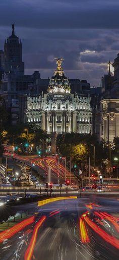 ↰✯↱lugares - Gran Via, Madrid, Spain