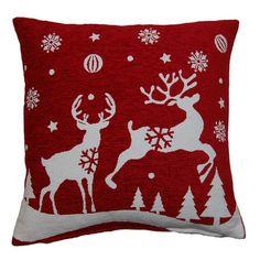 cheap christmas cushion covers to make - Feifan Furniture Best Christmas Presents, Cheap Christmas, Christmas Crafts, Christmas Decorations, Christmas Stuff, Christmas Ideas, Christmas Wreaths, Christmas Cushion Covers, Christmas Cushions