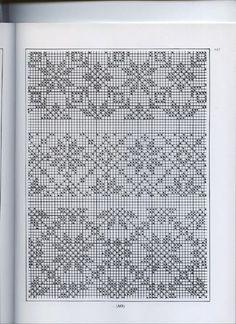 Traditional Fair Isle Knitting by Sheila McGregor - Beata J - Picasa Web Album Fair Isle Knitting Patterns, Knitting Charts, Knitting Stitches, Crochet Patterns, Cross Stitch Sampler Patterns, Cross Stitch Borders, Fair Isle Chart, Do It Yourself Baby, Fair Isles