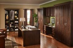 Give your home office a raise with ClosetMaid's ExecutiveSuite.