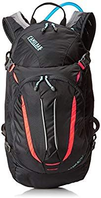Amazon.com : CamelBak Women's 2016 L.U.X.E. NV Hydration Pack, Charcoal/Fiery Coral : Sports & Outdoors