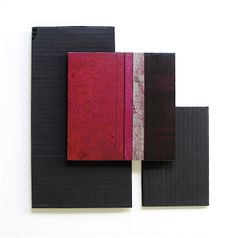 """RAMÓN URBÁN,""""ÁMBITOS DE SILENCIO V"""" Técnica mixta sobre tabla/cartón, 32x32 cm. 2013."""