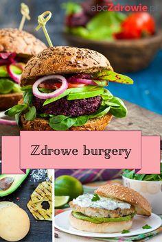 Zdrowy fastfood – brzmi nieprawdopodobnie? To mit! Możesz w prosty sposób przygotować smaczne, niskokaloryczne burgery. Sprawdź nasze propozycje!  #burgery #zdroweburgery #diet #dieta #healthyburger #healthy #snacks #przekąski #zdroweprzepisy #abcZdrowie Salmon Burgers, Healthy Tips, Ethnic Recipes, Food, Per Diem, Salmon Patties, Meal, Eten, Meals