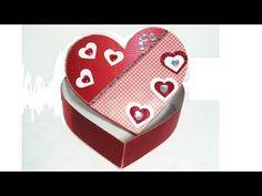 Episodio 31 Cajita de papel corrugado para San Valentín - YouTube