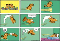 Garfield Classics by Jim Davis for Thu 26 Mar 2020 Garfield Quotes, Garfield And Odie, Garfield Comics, Funny Horses, Funny Dogs, Funny Animals, Funny Kitties, Kittens Cutest, Cats And Kittens