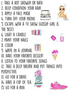 boredom busters and my new goals image