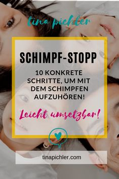 10 steps to stop scolding or screaming! Everyday family life - practical tips Schimpftir . Read Later, Tabu, Mind Body Soul, Exercise For Kids, Baby Hacks, Positive Affirmations, Family Life, Kids And Parenting, Coaching