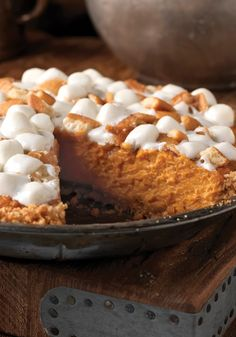 Sweet Potato Pie -- Step aside, pumpkin pie--there's a new dessert recipe in town, and it's perfect for a dinner party.