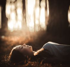 I jumped awake, embarrassed to have fallen asleep, but when I opened my eyes nothing was the same. A soft sunlight played through a lovely green canopy and danced across the ivy all around me.