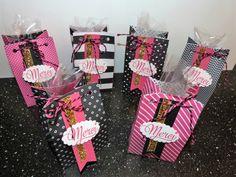 Pochettes girly, stampin'up, fannystamp31, insta'pochette, papier touche de rose, perfo fanion
