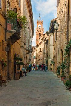 Pienza (Siena), Tuscany, Italy