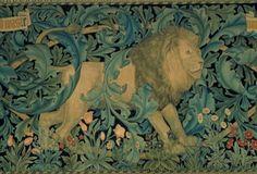 William Morris Lion Tapestry