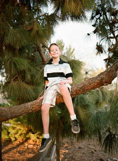 Nick in a Tree | Flickr - Photo Sharing! Mamiya 645AF, 80mm f/2.8 lens at f/2.8. Kodak Portra 160 film, Noritsu scan.