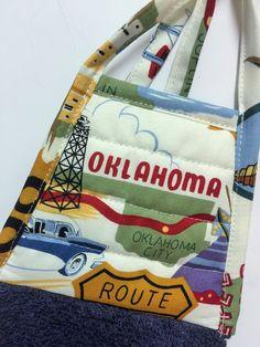 Oklahoma Kitchen Towel   Oklahoma Dish Towel   Blue Tea Towel   Country  Towelu2026