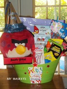 Angry Birds Birthday Basket